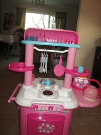 ELC Kitchen - Pink - with accessories