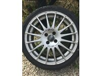 4 x OZ Racing Alloy Wheels - Super Turismo GT 17""