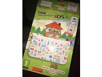 rare limited edition nintendo 3ds xl animal crossing happy home design