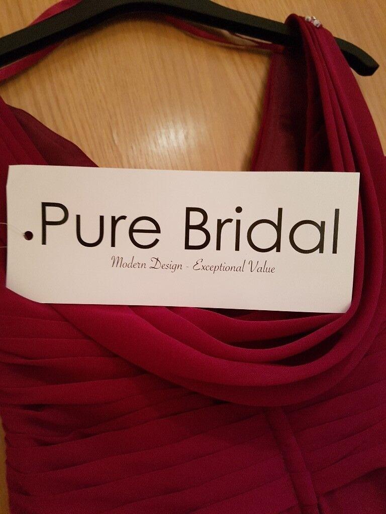 BRIDESMAID DRESS AND SHOES