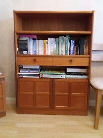 Nathan Classic Teak Medium Bookcase