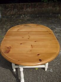 Solid Wood Drop Leaf Dining Table