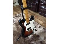 Fender Telecaster Thinline modern player 3 colour sunburst