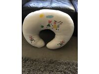 Baby breast feeding support pillow.