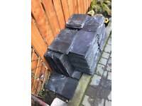 """Welsh slate roof tiles 16x10"""""""
