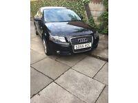 Black A3 Audi