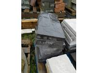 440x220 concrete Riven paving slabs stepping stones