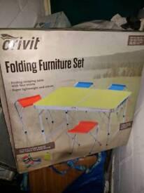 Crivit folding furniture set