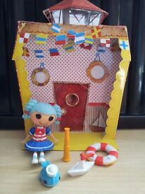 JOB LOT BUNDLE Lala Loopsy la la loopsy Mini World playsets & dolls - complete x 5 sets & Large Doll
