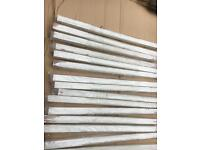 15 stair case posts , new , chamfered edge,