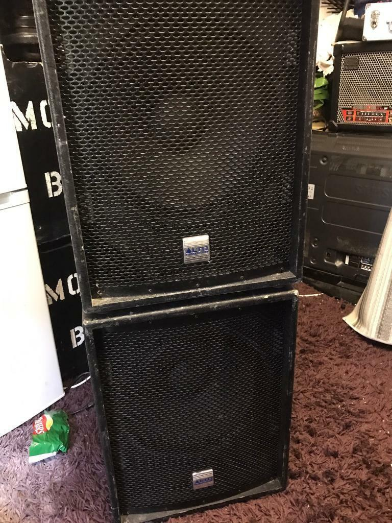15inch Bass Speakers