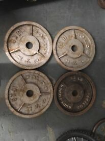 Olympic weights for sale (60kg in total)