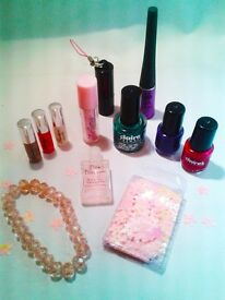 Children's Nail Varnishes / Polishes & Jewellery - large selection