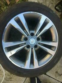Mercedes e class C class 4×17 inch Alloy Wheels