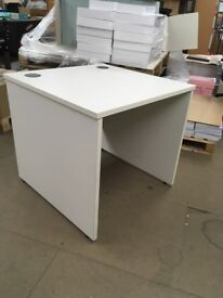 White One Man Sven Christiansen Desks £35 x6, Three Chairs available for a set!