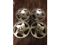 18inch WCI Alloy Wheels 5x100 Audi VW Fitment