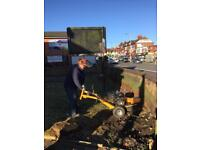 Stump grinding, stump grinder hire. Trunk and roots removal Service