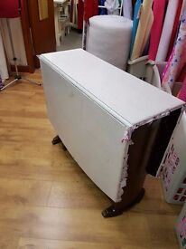 Solid Wood Drop Leaf Table ideal for Shabby Chic projects