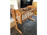 Swinging Baby Crib by 'Troll, Nicole'