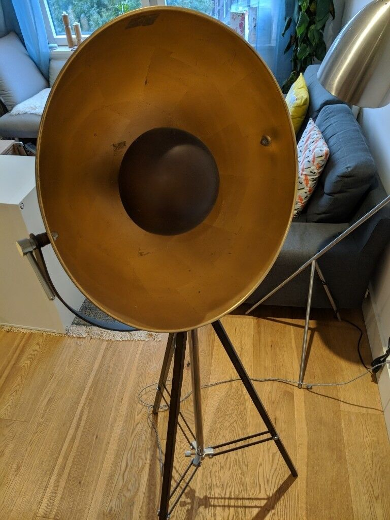 Second Hand Used Made Chicago Floor Lamp Antique Copper And Gold In Finsbury Park London Gumtree