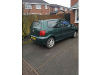 Vw polo 1.0 spares or repair starts first time drives fine needs handbrake adjust and exhaust