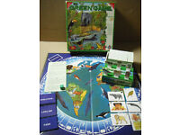 """""""THE GREEN GAME"""" conservation board game. By Octogo games. Complete."""