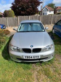image for BMW, 1 SERIES, Hatchback, 2005, Manual, 1995 (cc), 5 doors