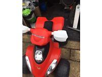 Electric toy quad bike