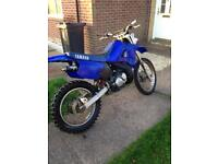 Off road Yamaha dtr with loads of spares. SWAP FOR A ROAD LEGAL QUAD