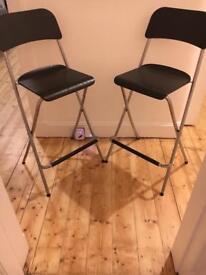 2 Ikea Bar Stools (Nearly New!)