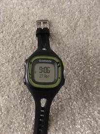 Garmin GPS fitness watch with HR