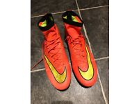 Nike Mercurial Superfly iV (hyperpunch/gold/back) SIZE 9