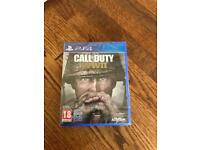 Call of Duty WWII (WW2) Ps4 Brand New Still Wrapped