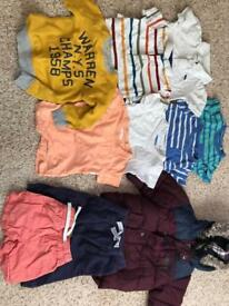 Boys clothing 6-12 months