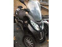 2011 Piaggio Mp3 300cc LT. £1299