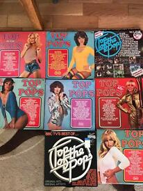 Selection Of Top Of The Pops Records