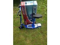 brand new razor electric scooter blue