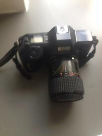 SLR 35mm film camera with macro lense