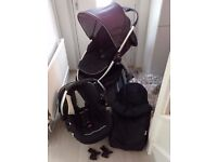 Hauck lift up 4 pushchair travel system