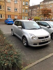 Silver Suzuki Swift, 76k Mileage, 5 month MOT