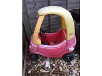 (SOLD) Little Tikes Cosy Coupe