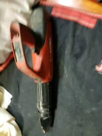 Hilti nail gun