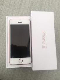IPhone se rose gold 64gb o2
