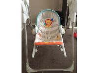 Fisher price 3 in 1 swing & rocket