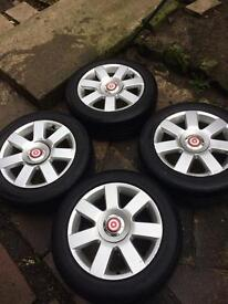 Vw mk4 golf alloys