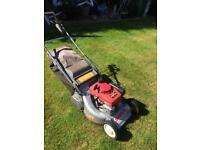 "Honda sharp self propelled petrol lawnmower 18"" roller lawn mower"