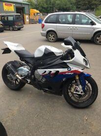 2010 BMW S1000RR 19,000 miles, August 2018 MoT, £7000