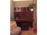 Piano & stool for sale