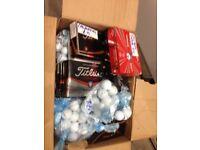 Pre loved golf balls