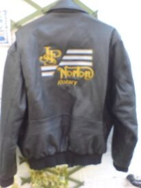 ROTARY NORTON LEATHER COAT